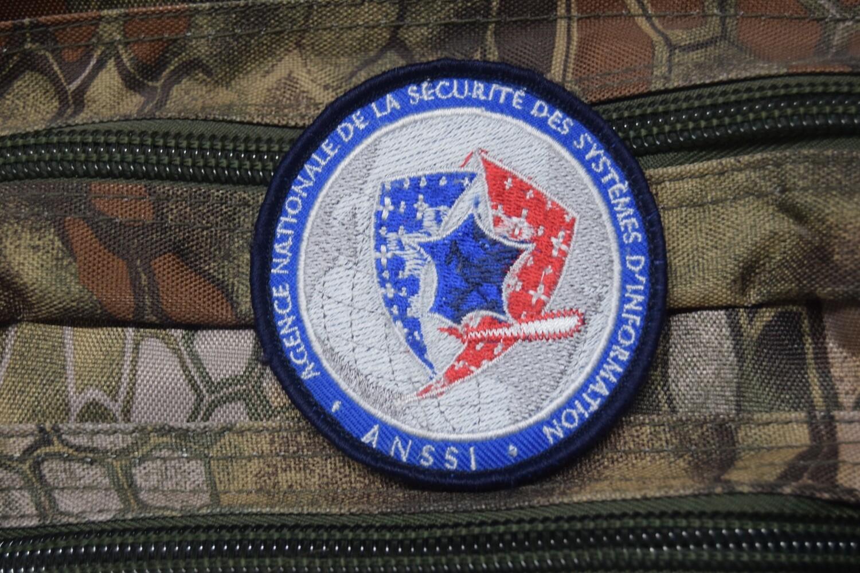 Patch Police Agence nationale de la sécurité des systèmes d'information