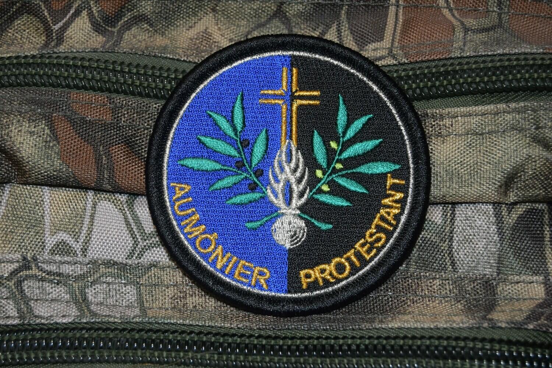 Patch Gendarmerie Aumônier Protestant