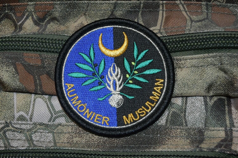 Patch Gendarmerie Aumônier Musulman
