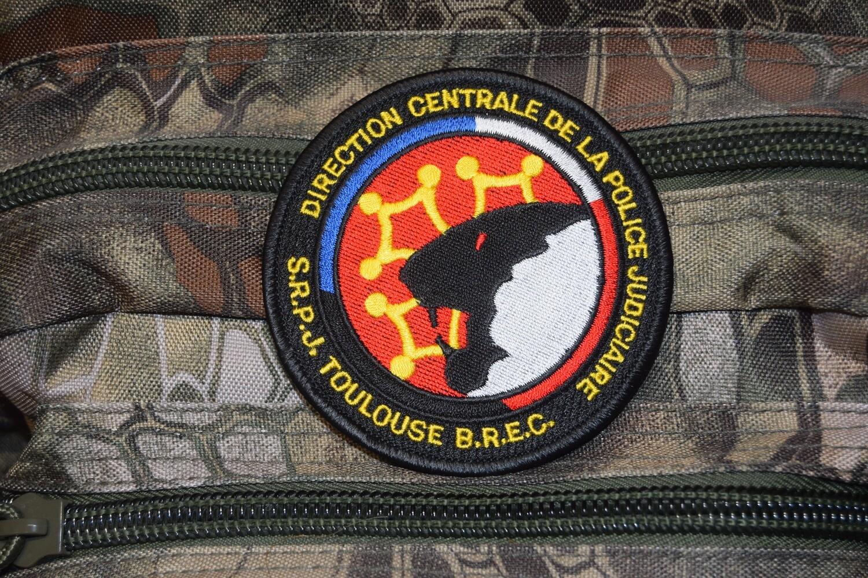 Patch Police SRPJ Toulouse Direction Centrale de la Police Judiciaire