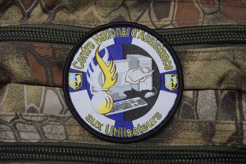 Patch Gendarmerie Centre Nationale d'Assistance aux Utilisateurs