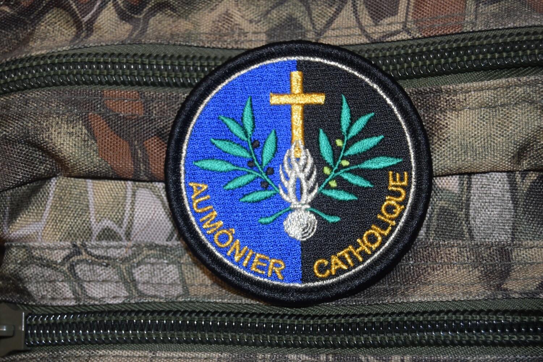 Patch Gendarmerie Aumônier Catholique