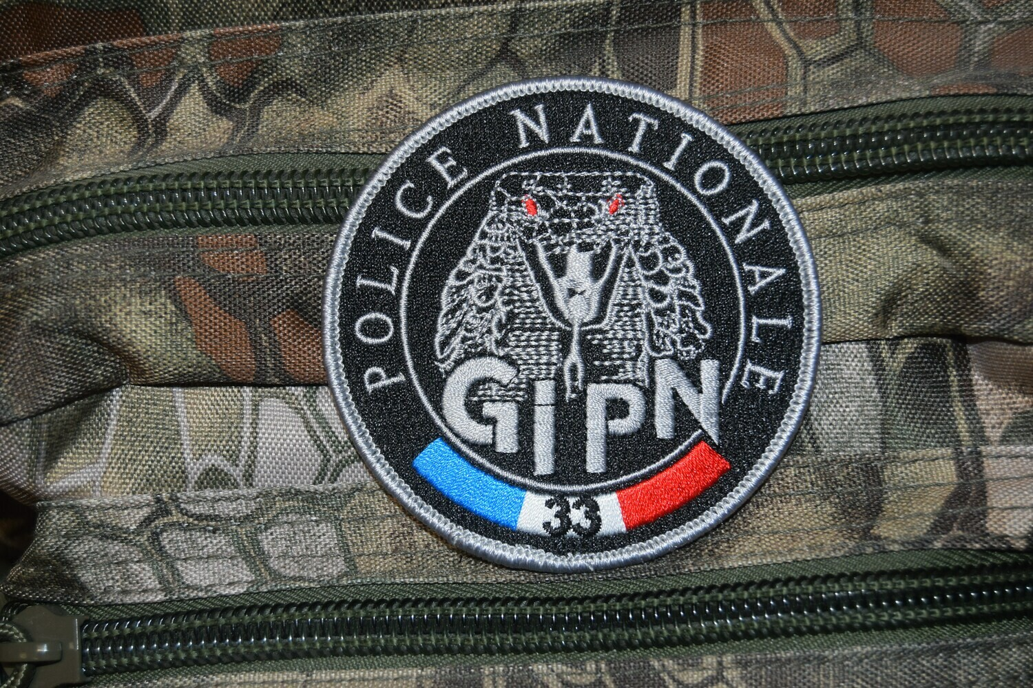 Patch Police Nationale GIPN 33 Gironde
