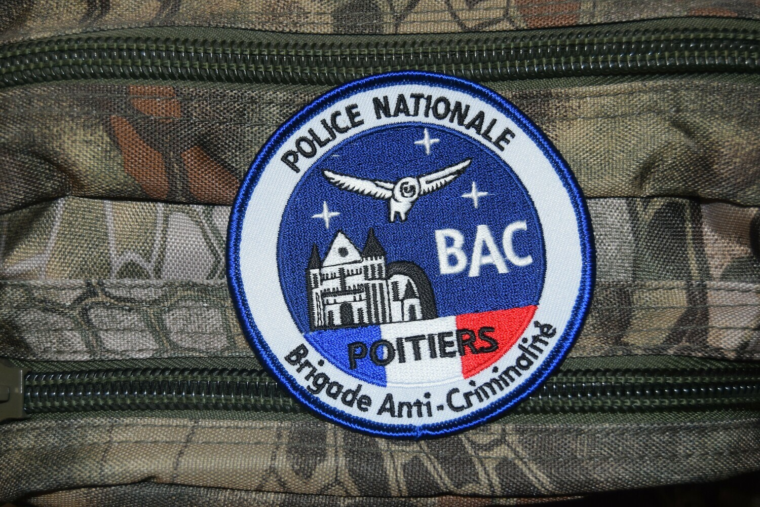 Patch Police Nationale BAC Poitiers