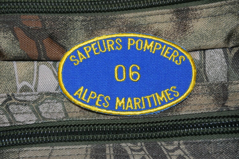 Patch Sapeurs Pompiers Alpes Maritimes 06