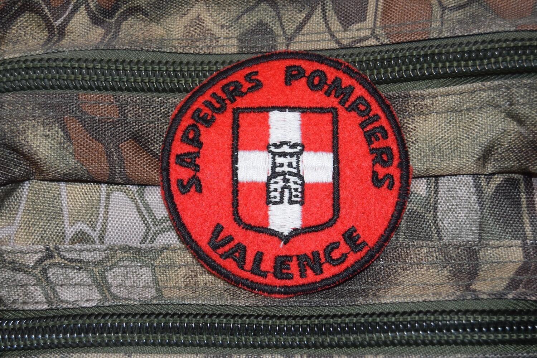 Patch Sapeurs Pompiers VALENCE
