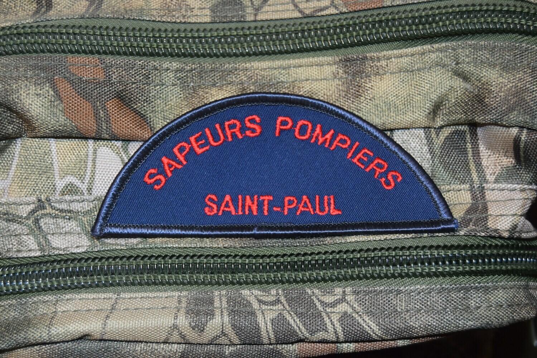 Patch Sapeurs Pompiers SAINT PAUL