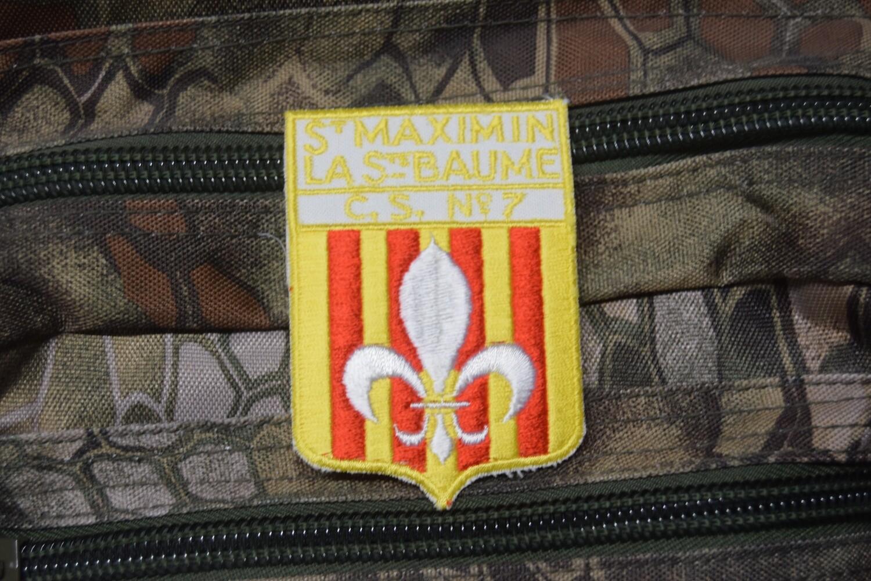 Patch Sapeur Pompier Saint Maximin la Sainte Baume