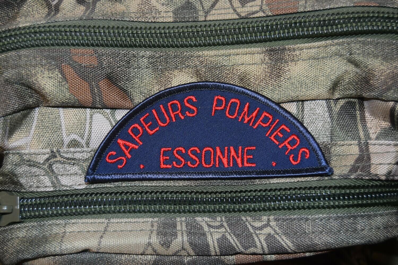 Patch Sapeur Pompier Essonne