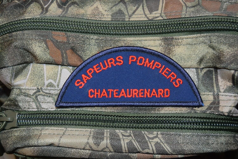 Patch Sapeurs Pompiers Châteaurenard