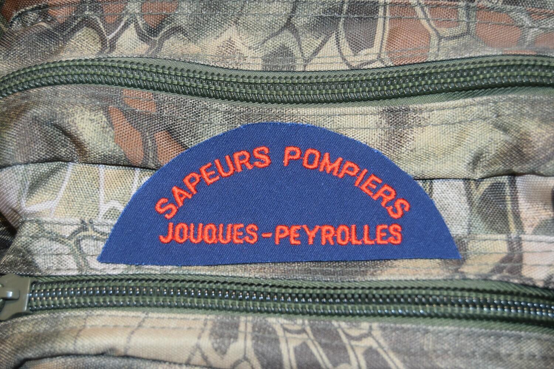 Patch Sapeurs Pompiers JOUQUES-PEYROLLES