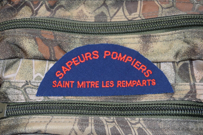 Patch Sapeurs Pompiers SAINT MITRE LES REMPARTS