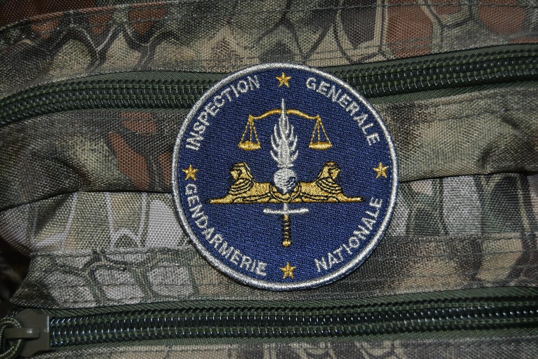 Patch Gendarmerie Nationale Inspection Générale