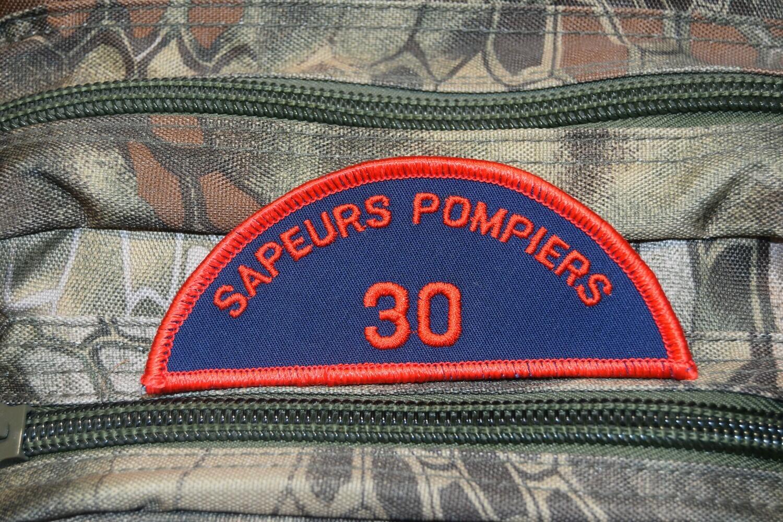 Patch Sapeurs Pompiers 30 Gard