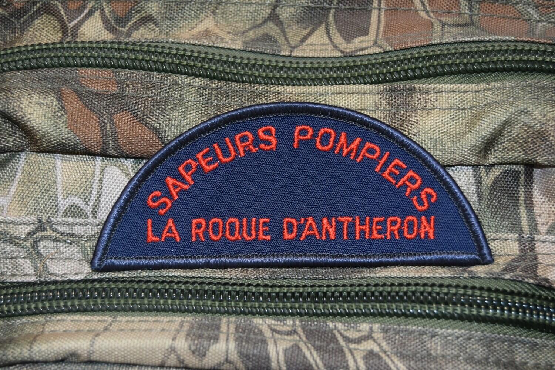 Patch Sapeurs Pompiers LA ROQUE D'ANTHERON