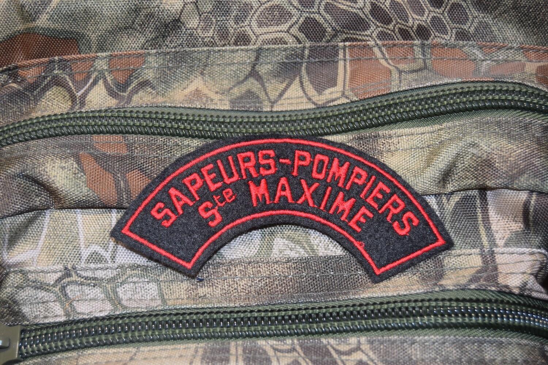 Patch Sapeurs Pompiers SAINTE MAXIME