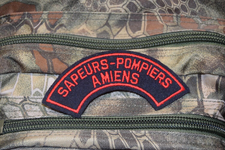 Patch Sapeurs Pompiers AMIENS