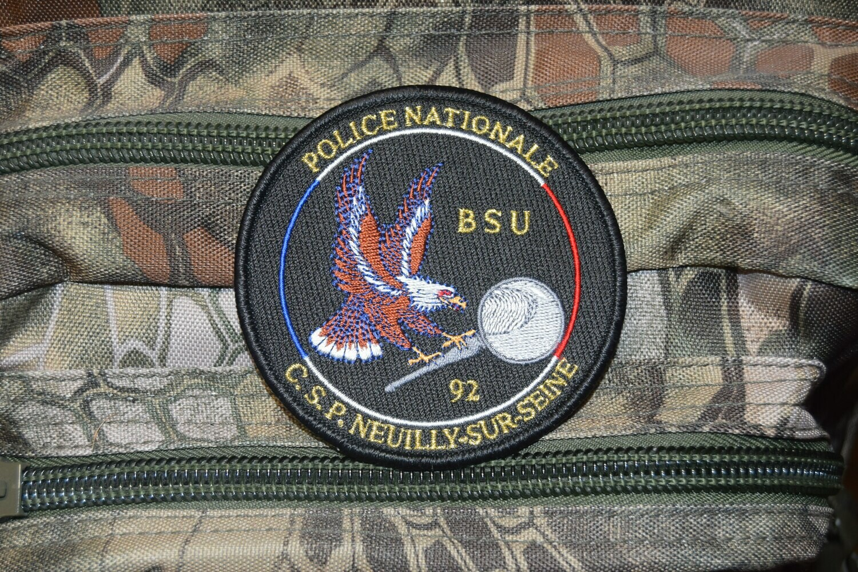 Patch Police Nationale BSU 92 C.S.P. NEUILLY SUR SEINE
