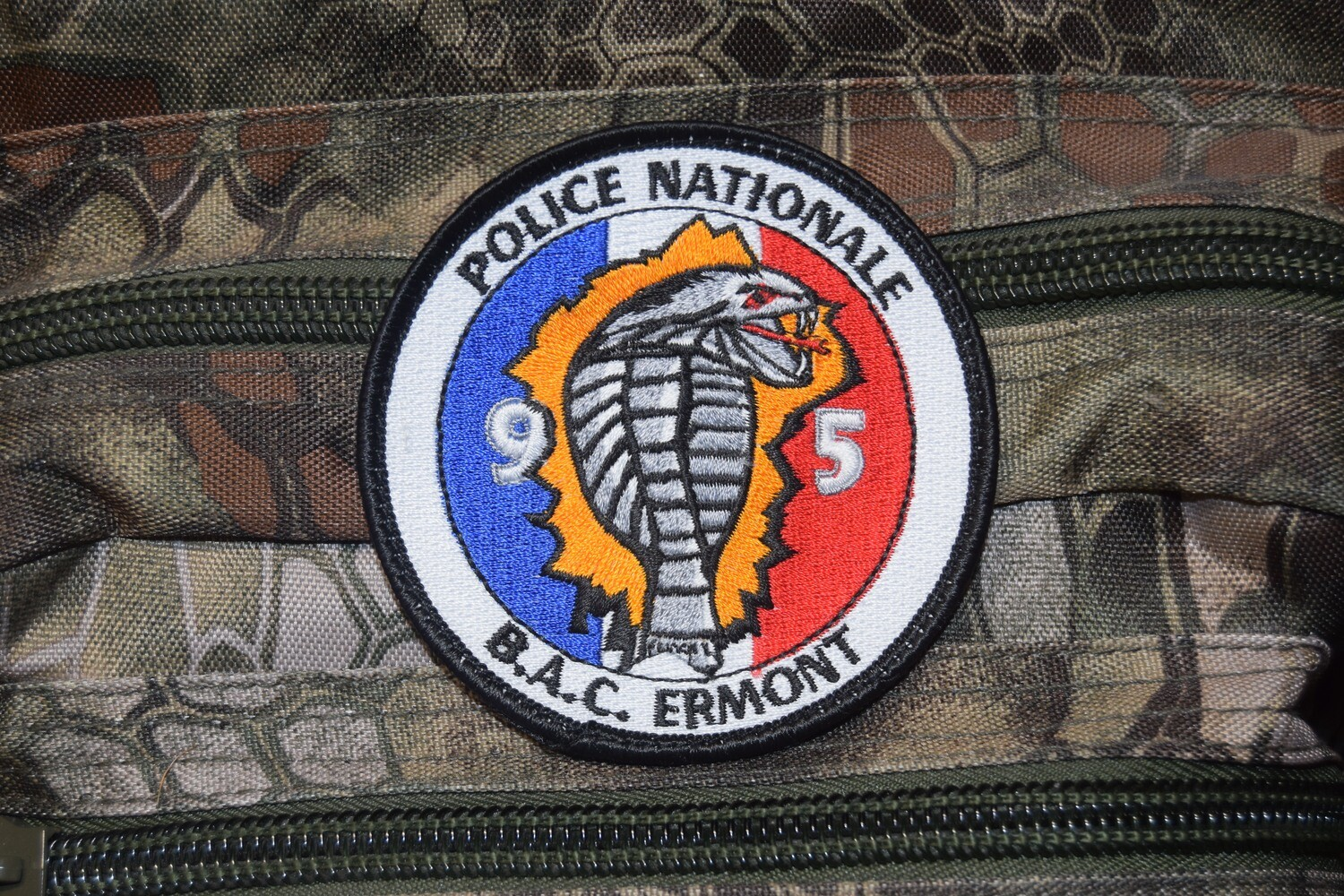 Patch Police Nationale BAC ERMONT 95
