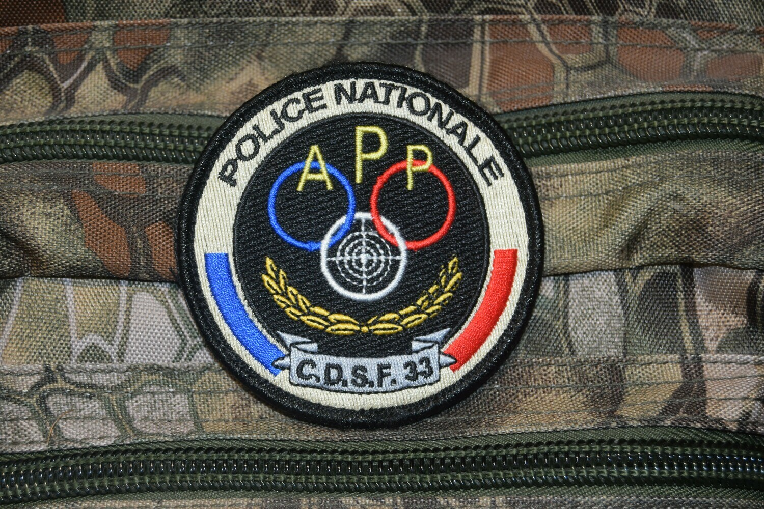 Patch Police Nationale C.D.S.F. 33