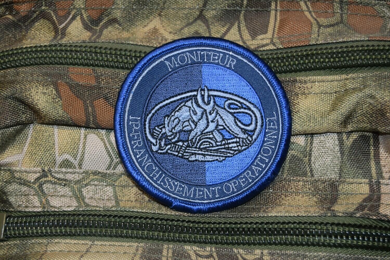 Patch Gendarmerie Moniteur IP-Franchissement Opérationnel