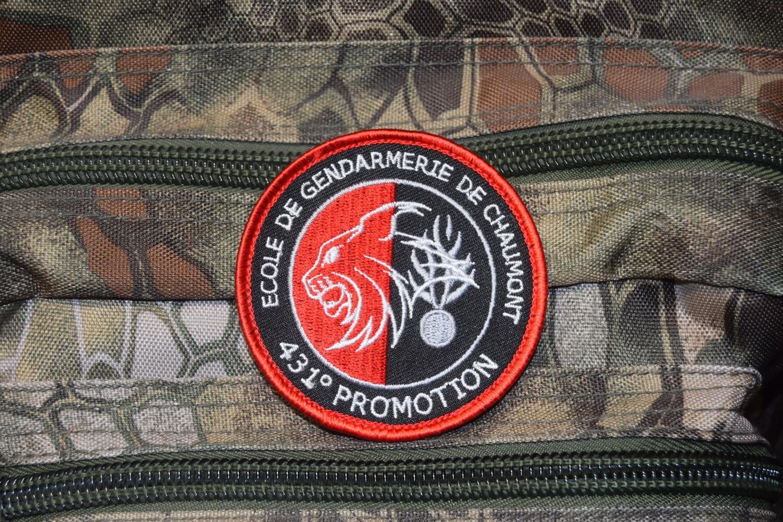 Patch École de Gendarmerie de Chaumont 431e Promotion
