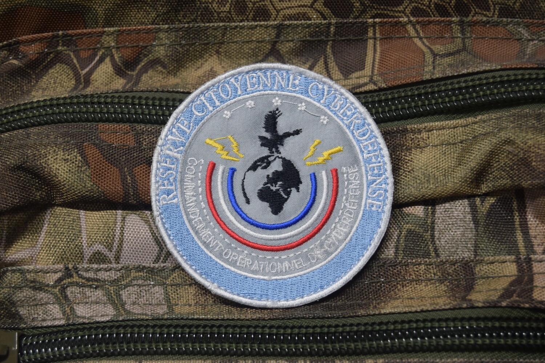 Patch Police Nationale Réserve Citoyenne Cyber-Défense