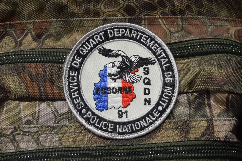 Patch Police Nationale Service de Quart Départemental de Nuit Essonne 91