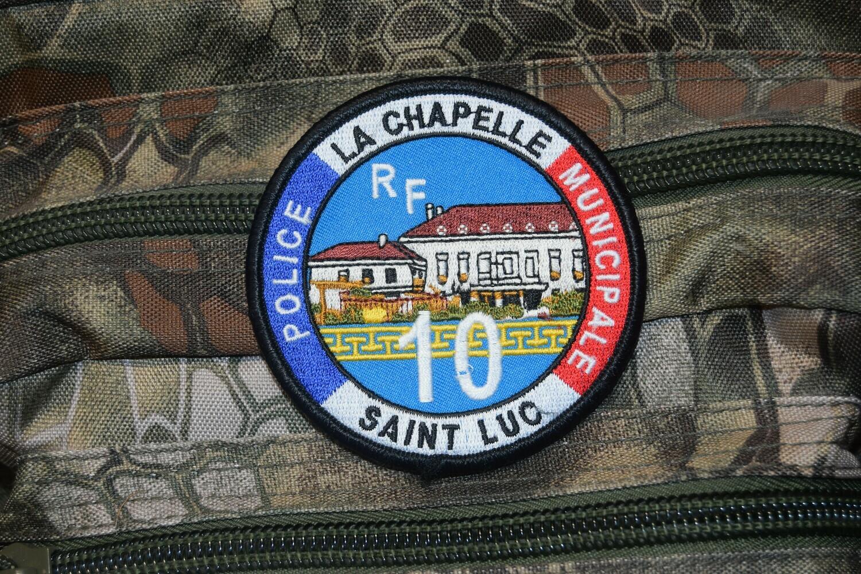 Patch Police Municipale La Chapelle Saint Luc 10