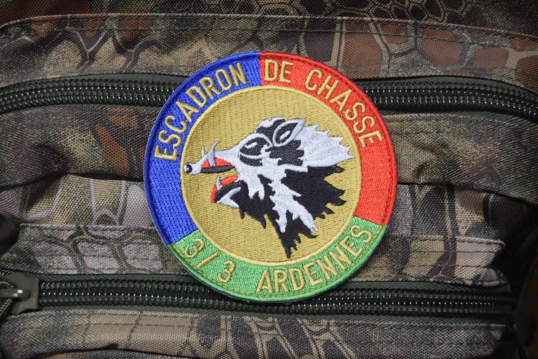 Patch militaire Escadron de Chasse 3/3 Ardennes