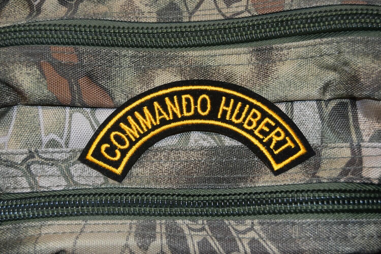 Patch militaire Commando HUBERT