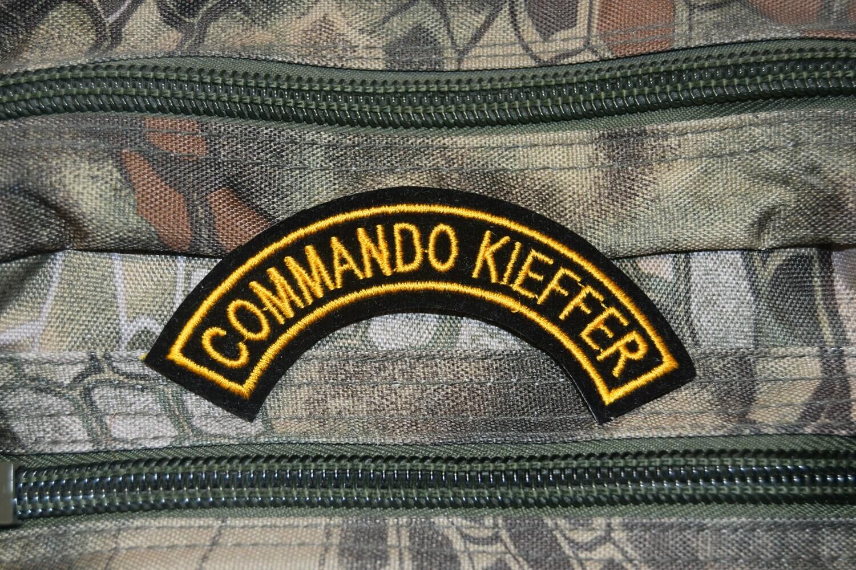 Patch militaire Commando KIEFFER