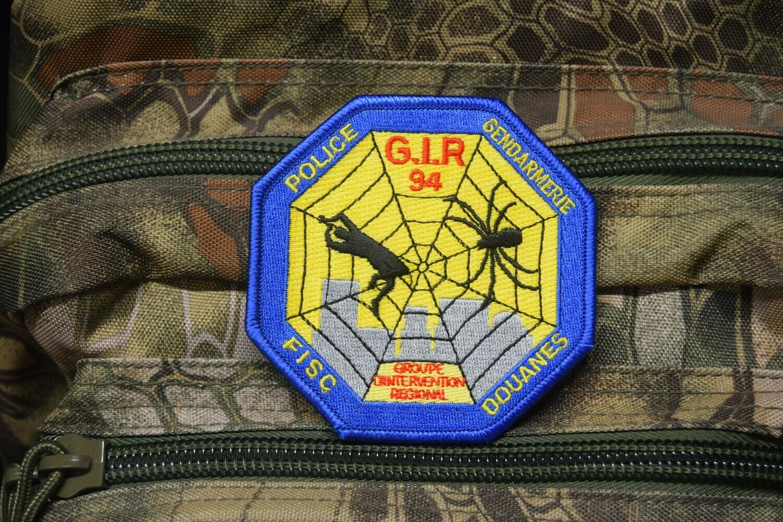 Patch Police Gendarmerie Douanes FISC GIR 94