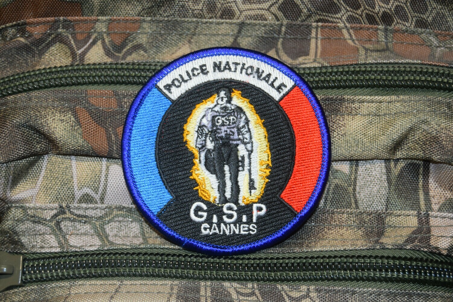 Patch Police Nationale GSP Cannes