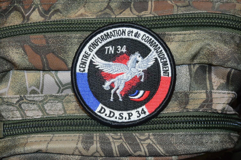 Patch Police DDSP 34 Centre d'Information et de Commandement