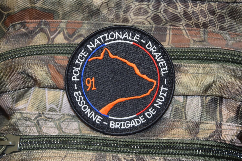 Patch Police Nationale DRAVEIL Brigade de Nuit
