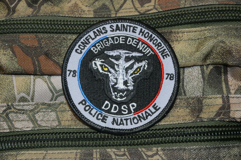Patch Police Nationale Brigade de Nuit CONFLANS SAINTE HONORINE 78