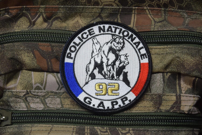 Patch Police Nationale GAPP 92