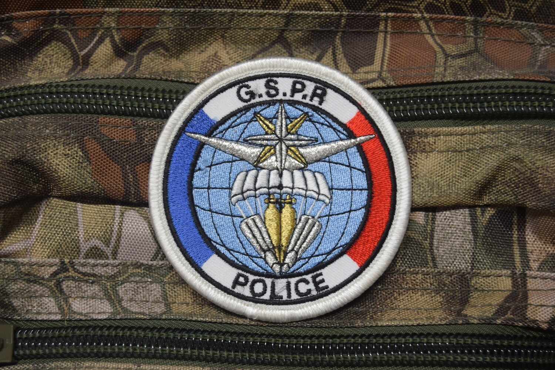 Patch Police GSPR Groupe de sécurité de la présidence de la République