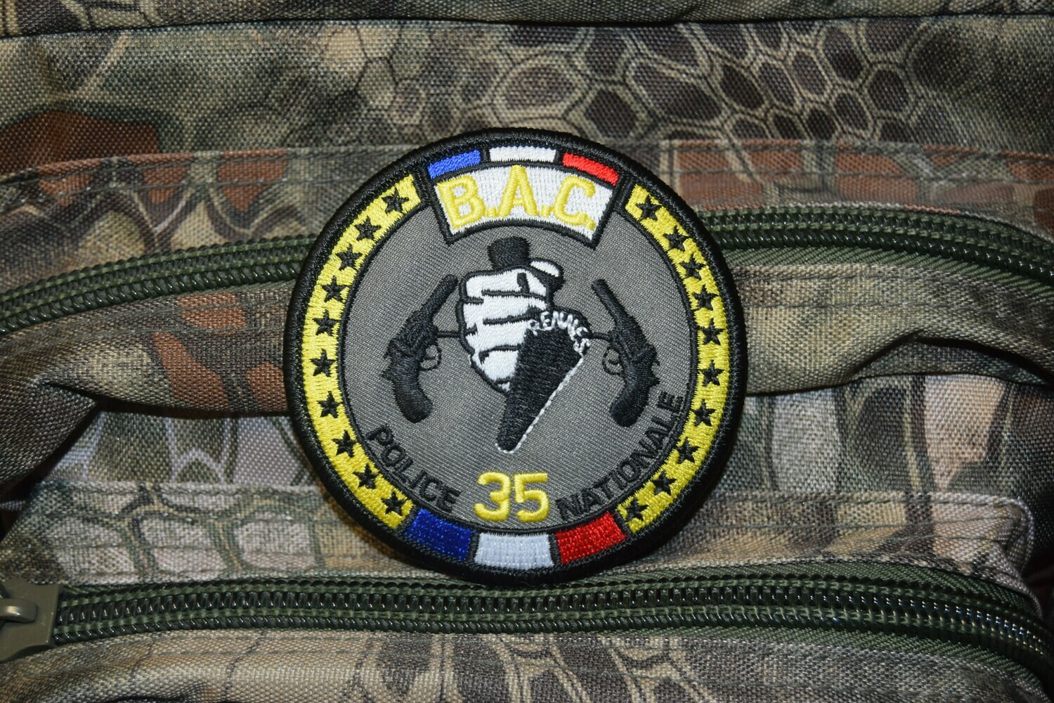 Patch Police Nationale BAC 35