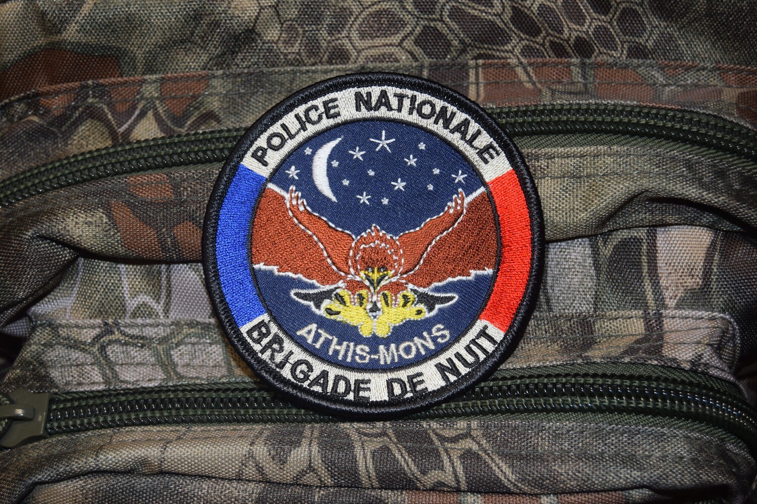 Patch Police Nationale Brigade de Nuit ATHIS-MONS