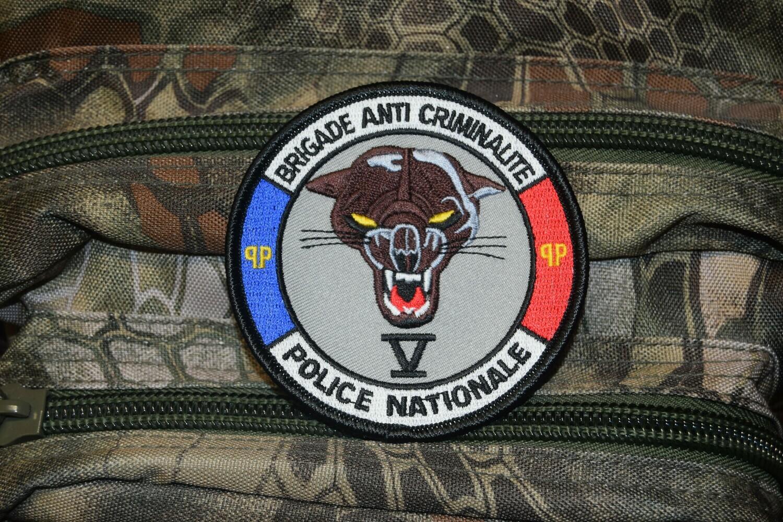 Patch Police Nationale Brigade Anti-Criminalité V
