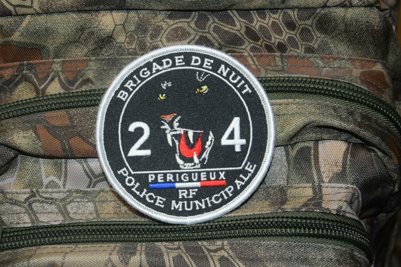 Patch Police Municipale Brigade de Nuit Périgueux 24