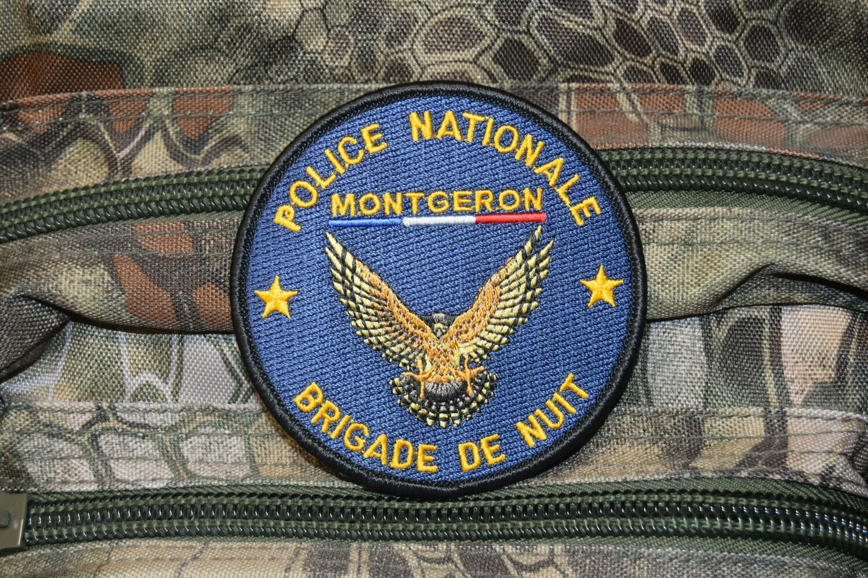 Patch Police Nationale Brigade de Nuit MONTGERON