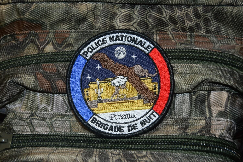 Patch Police Nationale Brigade de Nuit PUTEAUX