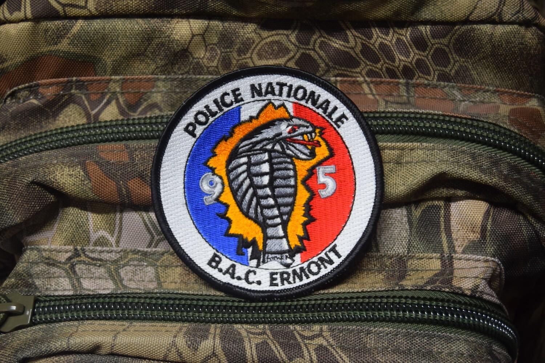 Patch Police Nationale Brigade Anti-Criminalité ERMONT 95