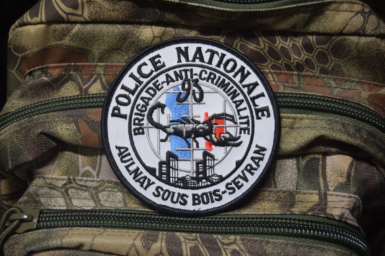 Patch Police Nationale Brigade Anti-Criminalité AULNAY SOUS BOIS SEVRAN 93