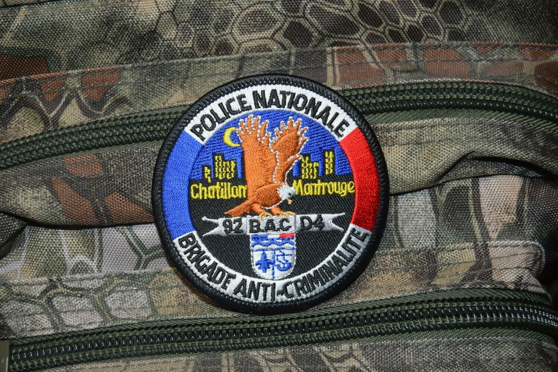 Patch Police Nationale Brigade Anti-Criminalité BAC 92