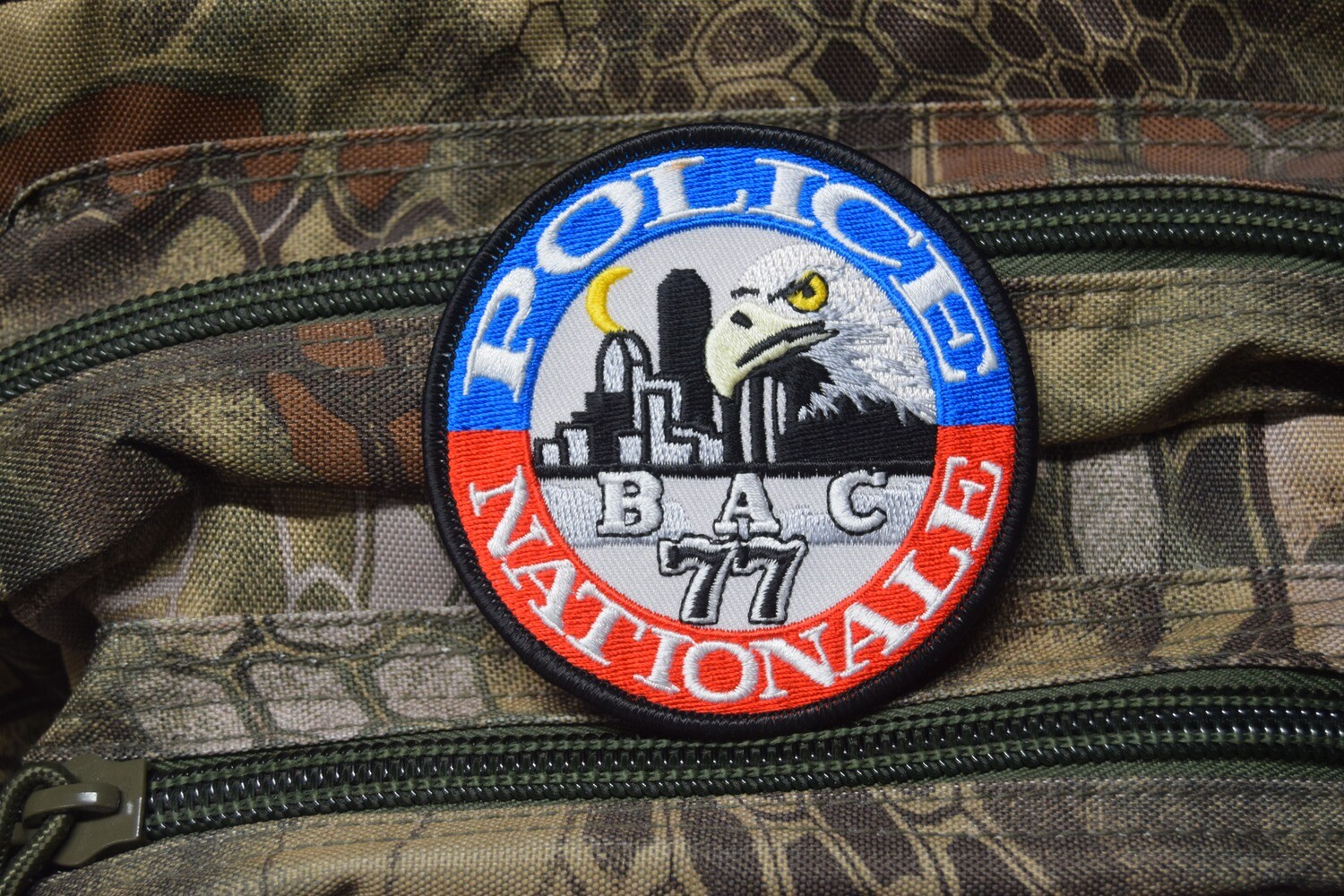 Patch Police Nationale BAC 77