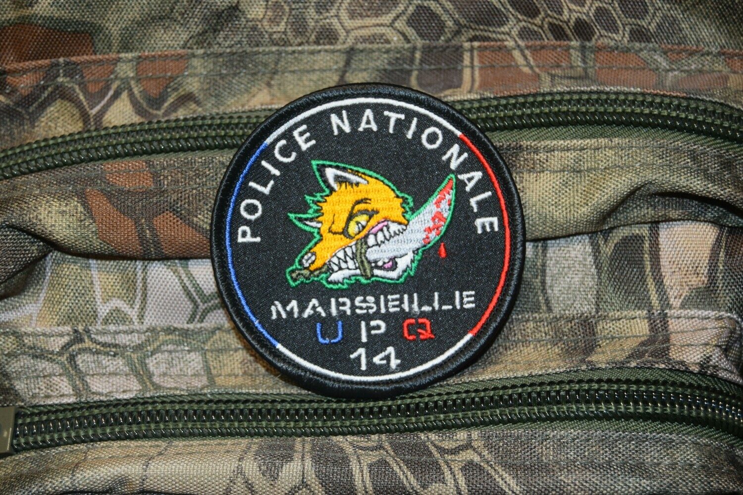 Patch Police Nationale Marseille UPQ 14